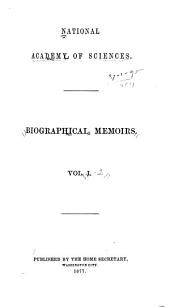 Biographical Memoirs: Volumes 1-2