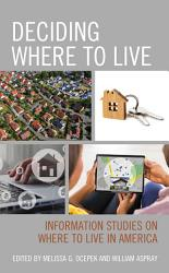 Deciding Where To Live Book PDF