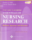 Study Guide to Accompany Essentials of Nursing Research PDF