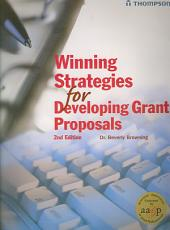 Winning Strategies for Developing Grant Proposals PDF