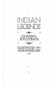 Indian Legends PDF