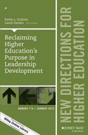 Reclaiming Higher Education s Purpose in Leadership Development PDF