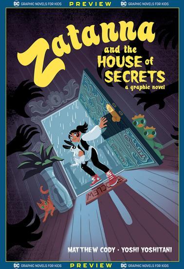 DC Graphic Novels for Kids Sneak Peeks  Zatanna and the House of Secrets  2020    1 PDF