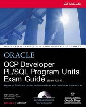 OCP Developer PL/SQL Program Units Exam Guide