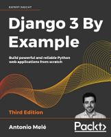 Django 3 By Example PDF
