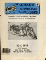 WALNECK S CLASSIC CYCLE TRADER  ISSUE  33 PDF