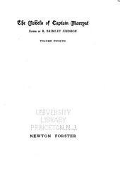 The Novels of Captain Marryat: Volume 4