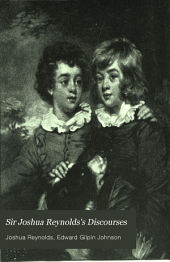 Sir Joshua Reynolds's Discourses