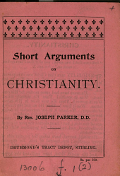 Short arguments on Christianity: Volume 2