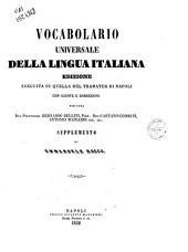 Vocabolario Universale Della Lingua Italiana