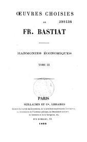Oeuvres choisies de Fr. Bastiat: sophismes économiques : petits pamphlets, Volume2