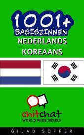 1001+ Basiszinnen Nederlands - Koreaans
