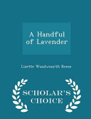 A Handful of Lavender   Scholar s Choice Edition PDF