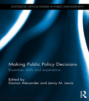 Making Public Policy Decisions PDF