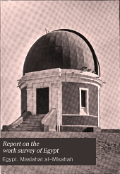 A Report on the Work of the Survey Department in ...