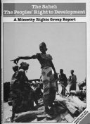 The Sahel  the Peoples  Right to Development PDF