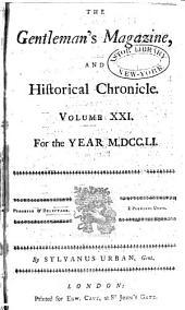 The Gentleman's Magazine: Volume 21