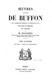 Oeuvres complètes de Buffon (avec la nomenclature linnéenne et la classification de Cuvier): Les singes, additions aux quadrupèdes. T. 4, Volume10