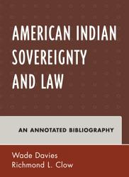 American Indian Sovereignty And Law Book PDF
