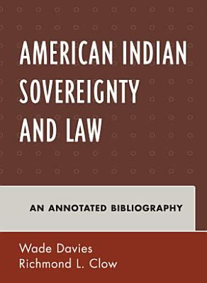American Indian Sovereignty and Law PDF