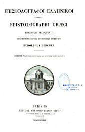 Epistolographi Graeci