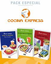 Pack especial: Cenar en bandeja / Recetas para no engordar / Cocinar con latas (Cocina Express)