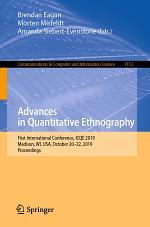 Advances in Quantitative Ethnography