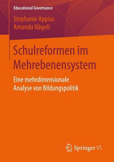 Schulreformen im Mehrebenensystem PDF