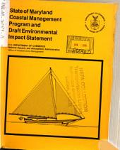 Maryland Coastal Zone Management Program: Environmental Impact Statement