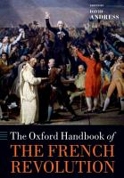 The Oxford Handbook of the French Revolution PDF