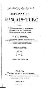 Dictionnaire français-turc: Volume2
