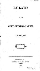 By-laws of the City of New Haven: Jan. 1822
