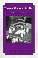 Theatre History Studies 2015 PDF