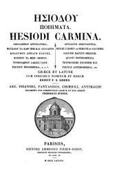 GY̆siódou poiýmata ... Āpollwníou Ārgonautiká [&c.]. Gr. et Lat., cum indicibus nominum et rerum ed. F.S. Lehrs