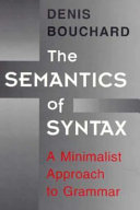 The Semantics of Syntax