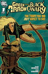 Green Arrow and Black Canary (2007-) #1