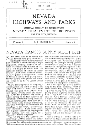 Nevada Highways and Parks PDF