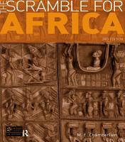 The Scramble for Africa PDF