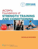 ACSM s Foundations of Strength Training and Conditioning PDF