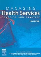 Managing Health Services PDF