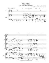 "What I'll Be: From ""Fancy Nancy The Musical"" (Digital Piano/Vocal Sheet Music)"