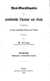 Real-encyklopädie für protestantische Theologie und Kirche: In Verbindung mit vielen protestantischen Theologen und Gelehrten, Band 14