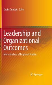 Leadership and Organizational Outcomes Book