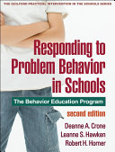 Responding to Problem Behavior in Schools