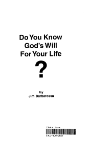 Do You Know Gods Will for Your Life PDF