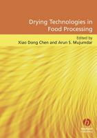 Drying Technologies in Food Processing PDF