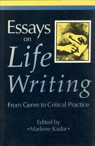 Essays on Life Writing Book