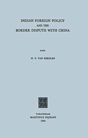 Indian foreign policy and the border dispute with China PDF