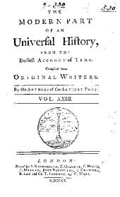 An Universal History, from the Earliest Account of Time: Volume 23