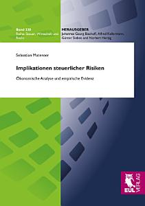 Implikationen steuerlicher Risiken PDF